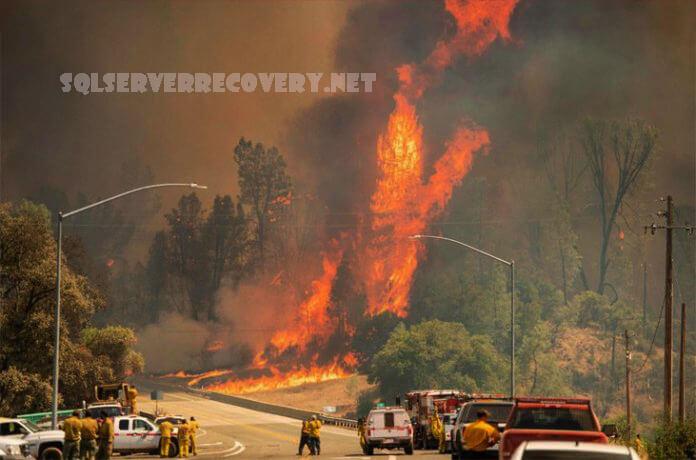 แคลิฟอร์เนีย เกิดไฟไหม้ครั้งใหญ่ขึ้น ความช่วยเหลือกำลังมาจากหลายรัฐของสหรัฐอเมริกาเนื่องจาก Gov Newsom ยื่นคำร้องขอความช่วยเหลือ