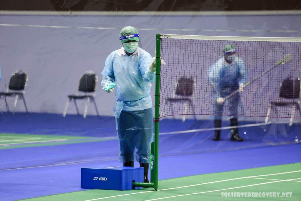นักกีฬา เตรียมลุยศึกใหญ่กรุงเทพฯ ผู้เล่นเริ่มฝึกซ้อมในวันพุธก่อนที่ขาเอเชียหลังจากที่ผู้เข้าร่วมทุกคนทดสอบโควิด -19 ในเชิงลบผู้จัดงานกล่าวการแข่งขัน