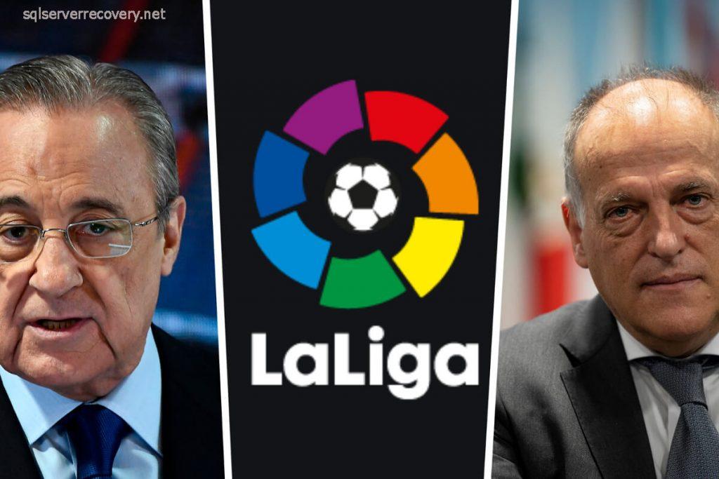 เรอัลมาดริด เตรียมฟ้องลาลีกาของสเปนจะฟ้องคดีแพ่งและอาญาต่อประธานลา ลีกาฆาเบียร์เตบาส และฮาเวียร์ เดอ ไจเม กีจาโรหัวหน้าของ CVC