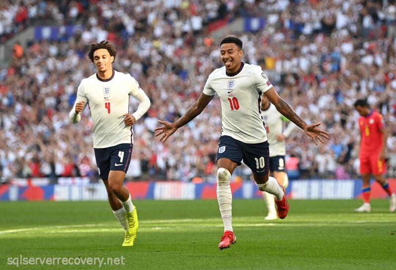 เจสซี ลินการ์ด โชว์ฟอร์มโหดพา ทีมชาติอังกฤษ ถล่ม อันดอร์ราการแข่งขันรอบคัดเลือกศึกฟุตบอลโลก 2022 เมื่อวันที่ 6 กันยายน 2564 ที่สนามเวมบลีย์